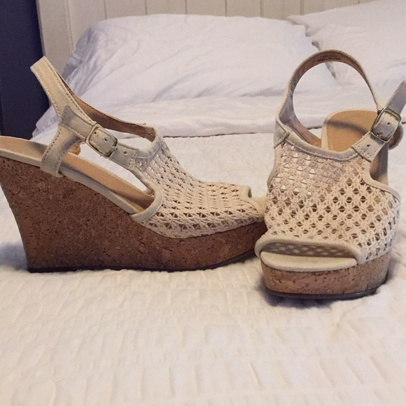 Shoes - Crocheted Wedges